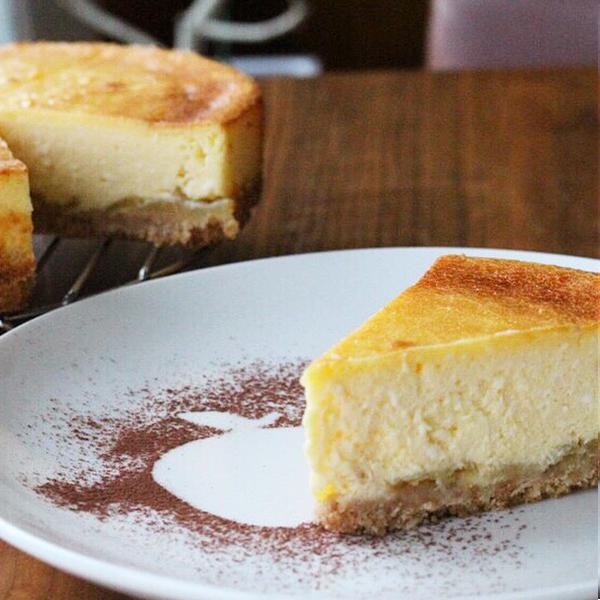 館山りんごのベイクドチーズケーキ