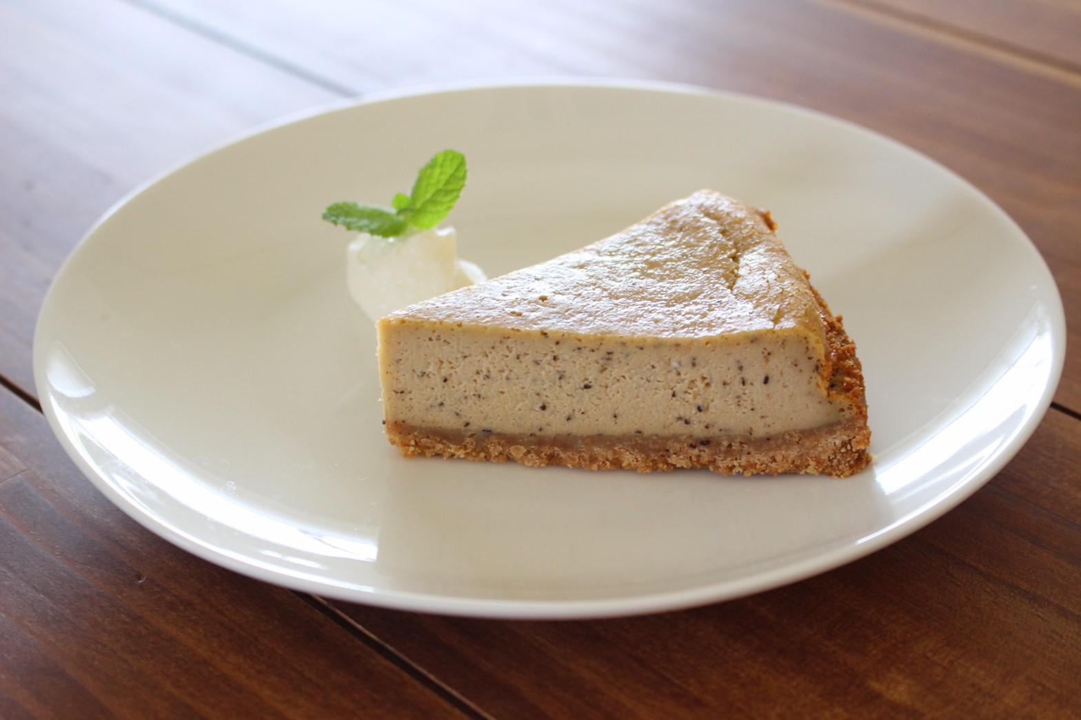 ミルクティーのベイクドチーズケーキ