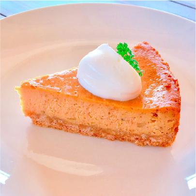 キャラメルバナナのチーズケーキ