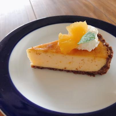 色々柑橘のベイクドチーズケーキ