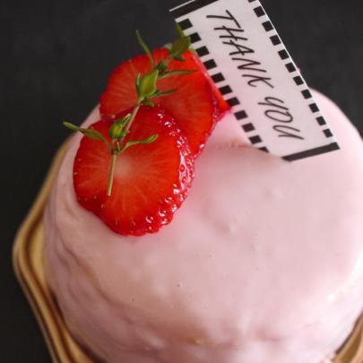 ホワイトデー特別チーズケーキ