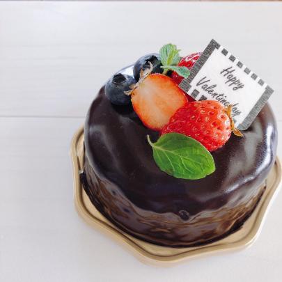 バレンタインデー特別チーズケーキ
