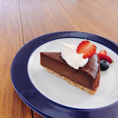 チョコレートベイクドチーズケーキ