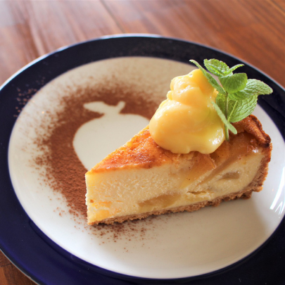 Applepie風ベイクドチーズケーキ